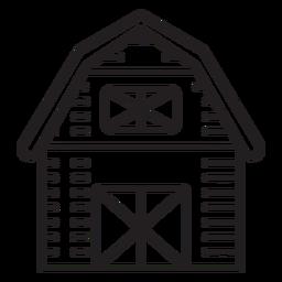 Ícone de celeiro de fazenda