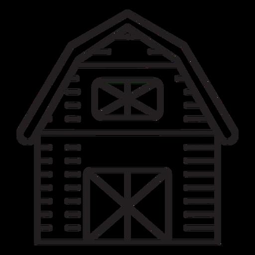 Farm barn icon Transparent PNG