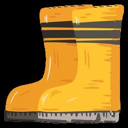 Icono de botas de granja