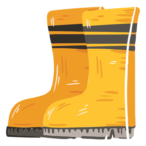 Icono de botas de granja Transparent PNG