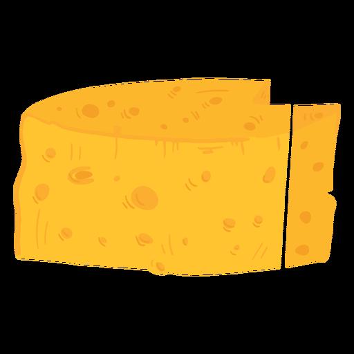 Icono de queso de granja Transparent PNG