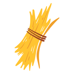 Farm dry grass icon