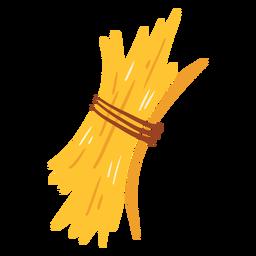 Icono de hierba seca de granja
