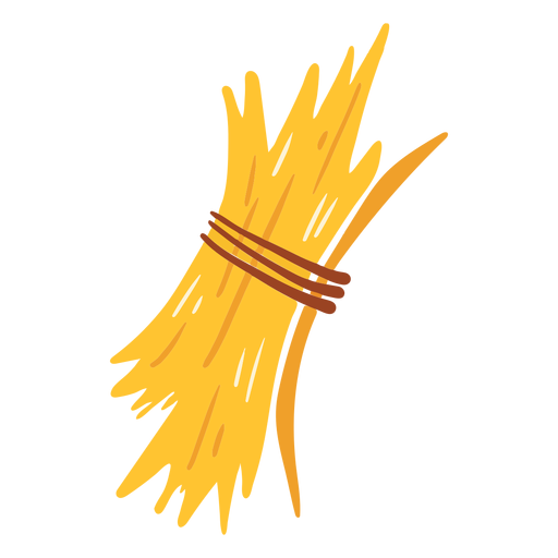 Farm dry grass icon