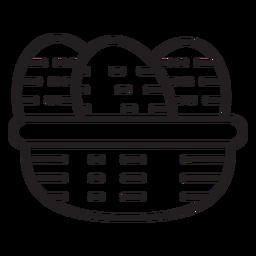Bauernhof Eier Symbol