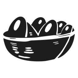 Canasta de huevos de granja