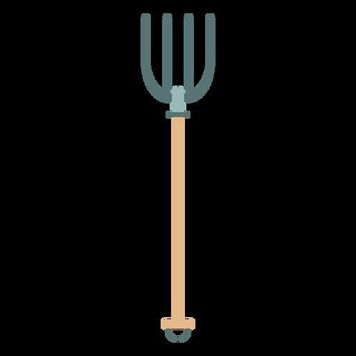 Icono de tenedor de granja