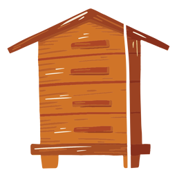 Farm hut icon