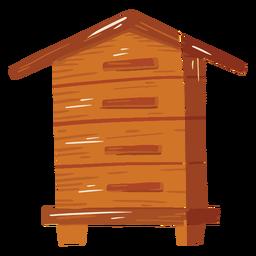 Icono de cabaña de granja