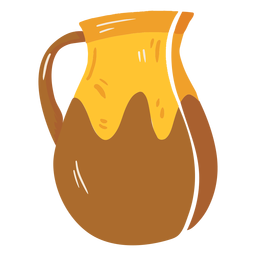 Farm jug pot icon