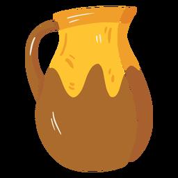 Icono de bote de jarra de granja