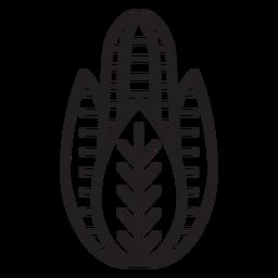 Farm maize icon