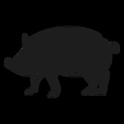 Porco da fazenda