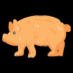 Farm pig icon