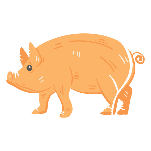 Ícone de porco de fazenda