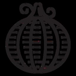 Icono de calabaza de granja