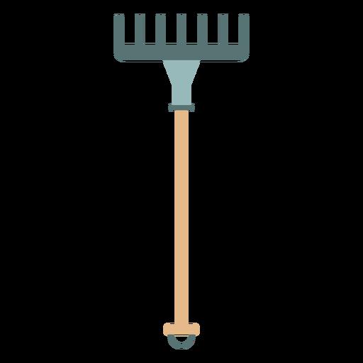 Icono de rastrillo de granja