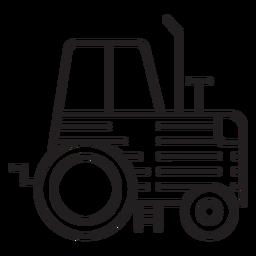 Icono de tractor agrícola