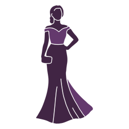 Fashion model posing skirt