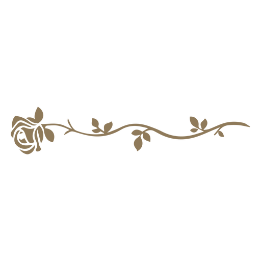 Floral design flower divider
