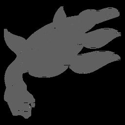 Dragão de criatura folclórica
