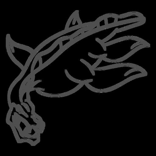 Golpe del dragón de la criatura del folklore Transparent PNG
