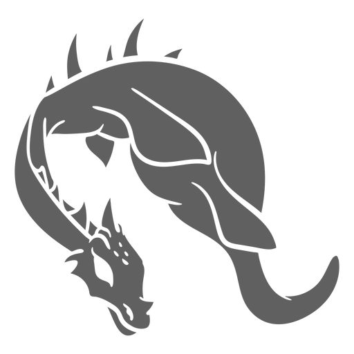 Folklore creature dragon flying
