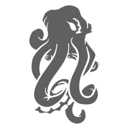 Folklore creature kraken angry
