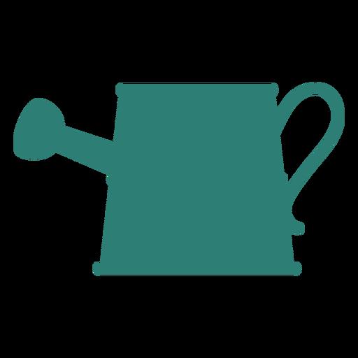 Gradening tool watering can silhouette