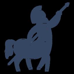 Monstruo centauro griego