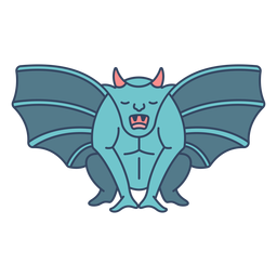 Monster gargoyle flat