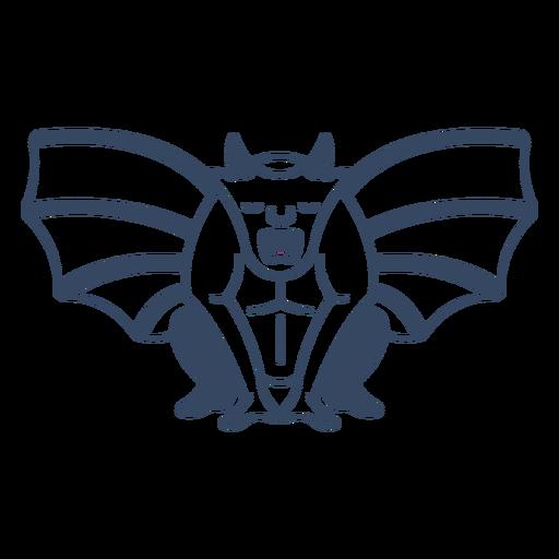 Monster Gargoyle Stroke Transparent Png Svg Vector File