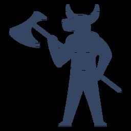 Monstruo minotauro griego