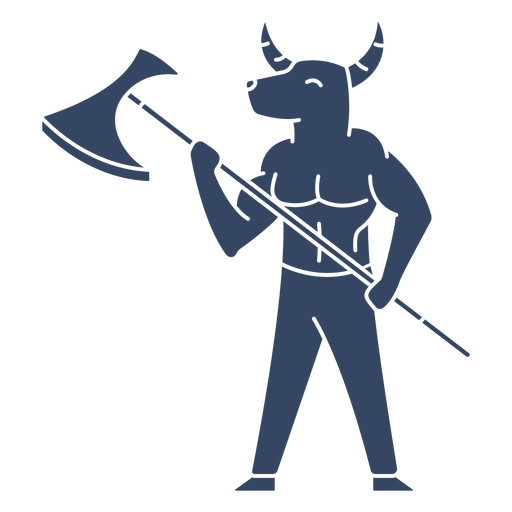 Monstruo minotauro griego Transparent PNG