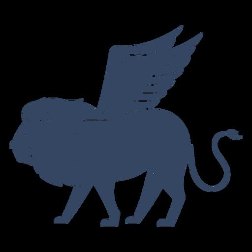 Leão alado monstro