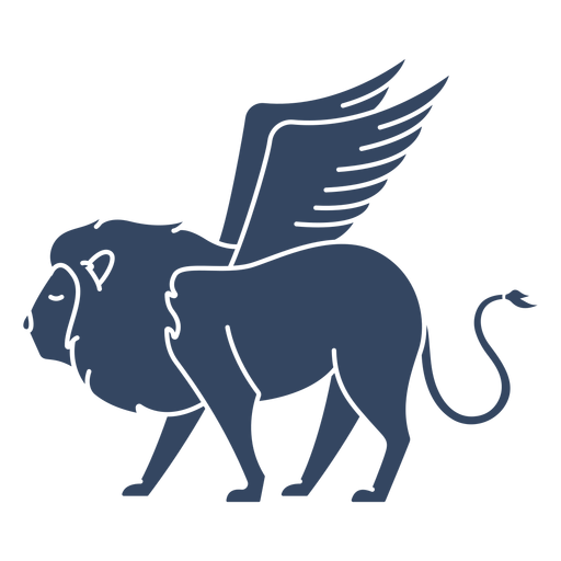 Monster winged lion