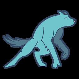 Lobo monstro como plano