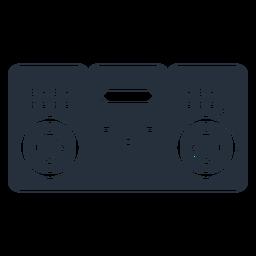 Music deck estéreo