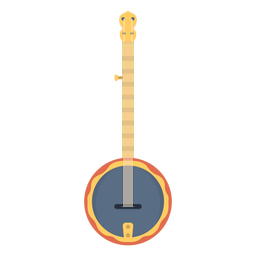 Flat banjo musical