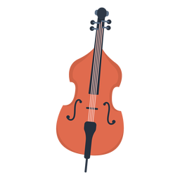 Musik Cello flach