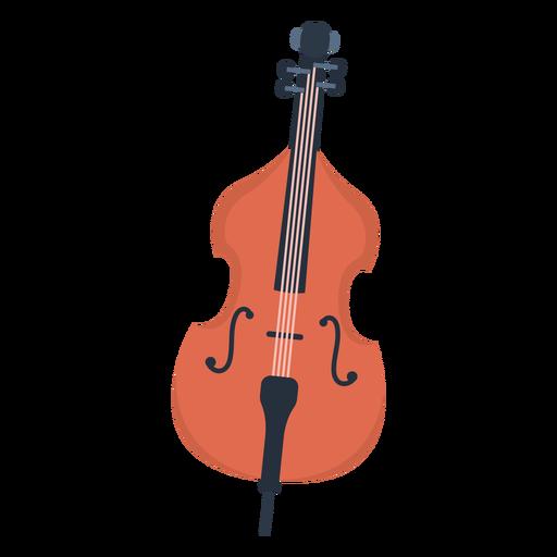 Music cello flat Transparent PNG