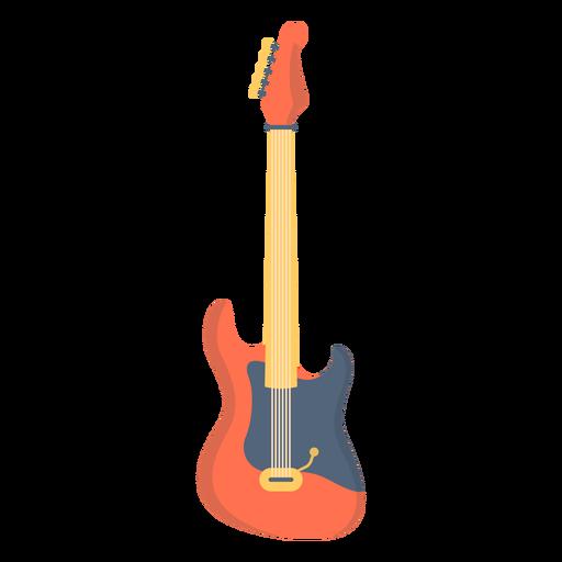 Música de guitarra eléctrica plana