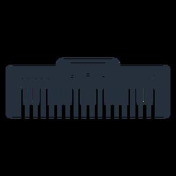 Teclado electrónico de música