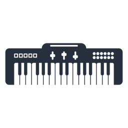 Teclado eletrônico musical