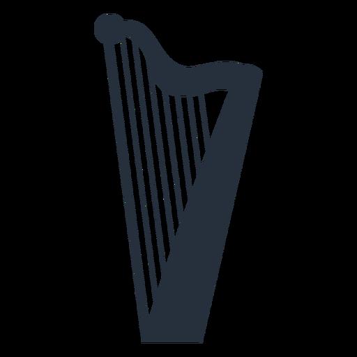Music harp Transparent PNG