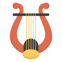 Music lyre flat