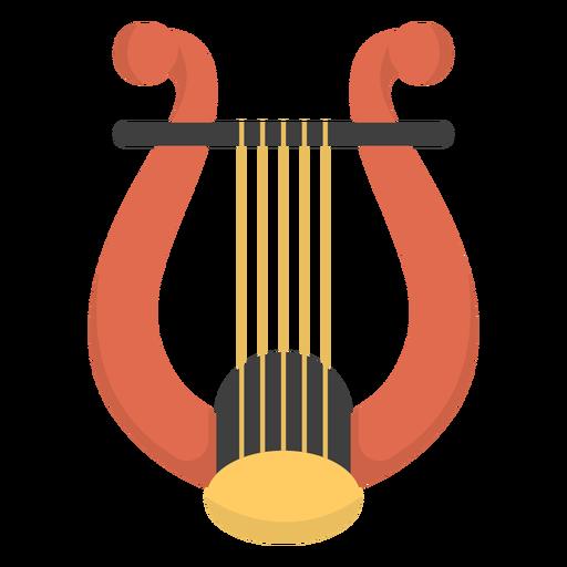 Music lyre flat Transparent PNG