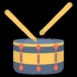 Music snare drum flat