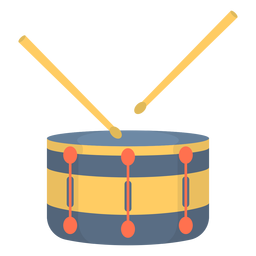 Musik Snare Drum Flat