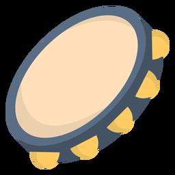 Flat de pandeiro musical